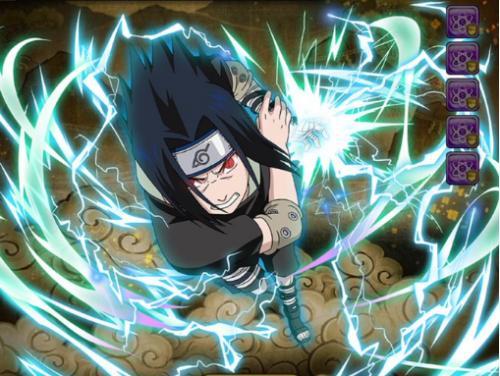 Sasuke uchiha chidori mastered naruto blazing gamea - Technique de sasuke ...