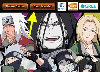 Transfering game data | Naruto Blazing - GameA