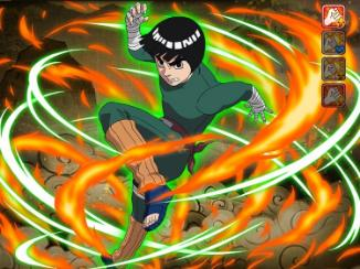 Rock Lee (The Eight Gates) | Naruto Blazing - GameA